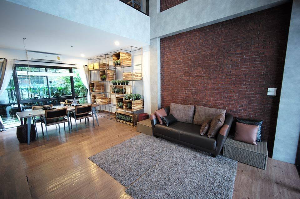 เพดานสูงโปร่งแบบ Duplex