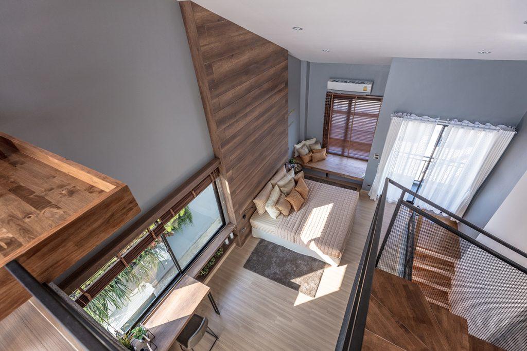 บ้านเพดานสูงโปร่ง